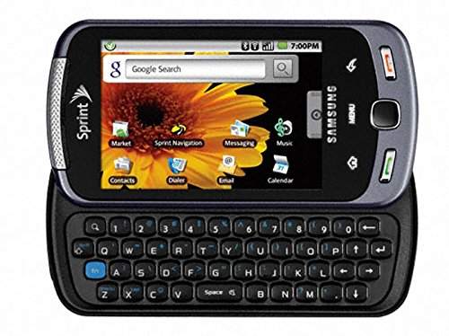 Samsung Moment SPH-M900 Cell Phone Android with Touch Screen, GPS, Bluetooth, Camera ()