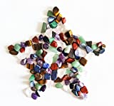 Mixed Natural Crystal 7 Chakra Stones, One