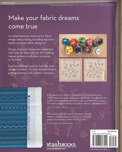 A Field Guide To Fabric Design: Design, Print & Sell Your