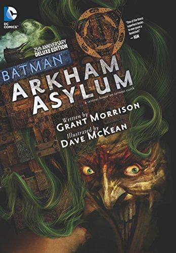 Batman Arkham Asylum 25th Anniversary Deluxe Edition by DC Comics