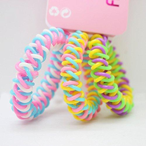 telephone wire hair tie - 5