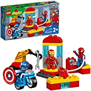 LEGO DUPLO Super Heroes Lab 10921 Marvel Avengers Superheroes Construction Toy and Educational Playset for Tod