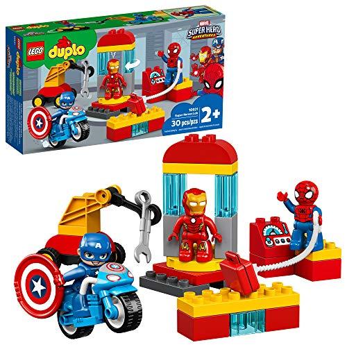 Brinquedo de construção LEGO DUPLO Laboratório de Super-Heróis 10921 (29 peças)
