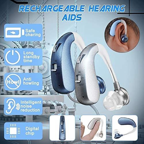LAIWEN Digital Premium Hearing Amplifier Volume Controlable Feedback Canceling Sound Amplifier for Men Women PSAP by LAIWEN (Image #3)