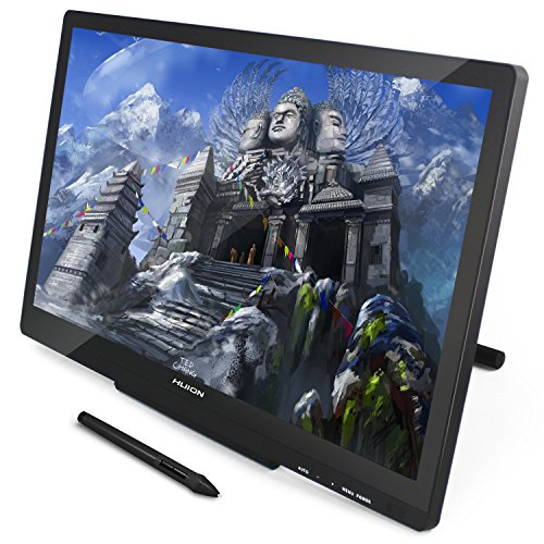 Huion GT-220 v2 IPS Graphics Drawing Monitor 21.5 Inch Pen Display HD Screen for Mac and PC - Black by Huion