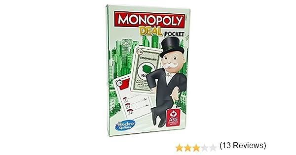 Hasbro Parker 01723100 - Juego de Cartas Monopoly Deal: Amazon.es: Juguetes y juegos