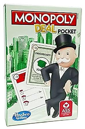 Hasbro Parker 01723100 - Juego de cartas Monopoly Deal ...