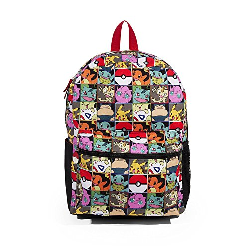 FAB Starpoint Pokemon Multi Character Check 16 Backpack -