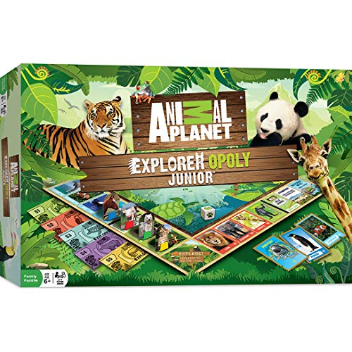 MasterPieces Animal Planet Explorer Opoly Jr. Board Game (Best Little Big Planet Game)