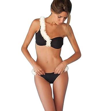 Harrystore 2017 Conjunto de Bikini Mujer Traje de baño de ...