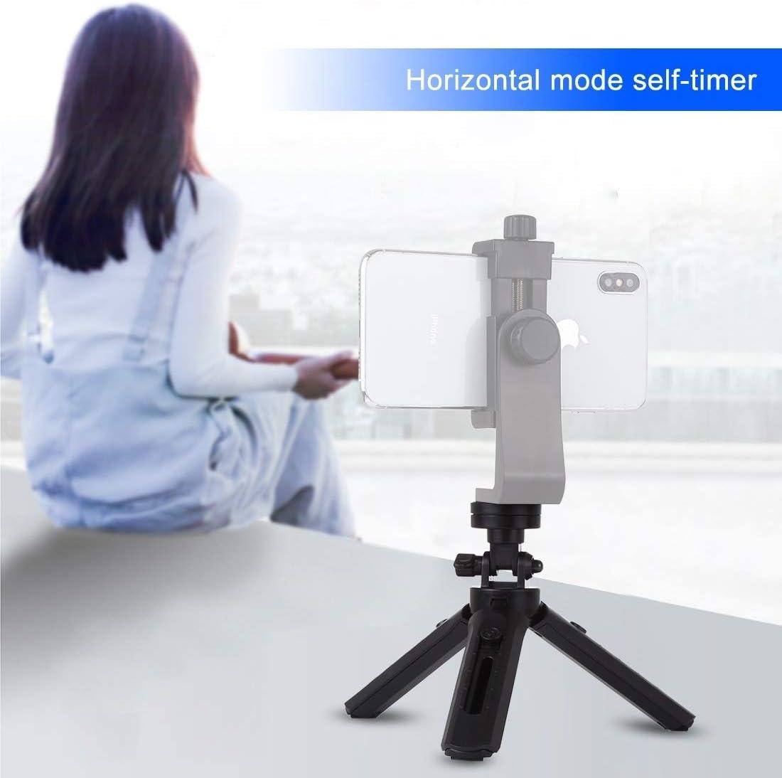 Adjustable Height 16.5-21.5cm CHENYANTUB Camera Accessories Pocket 5-Mode Adjustable Desktop Tripod Mount with 1//4 inch Screw for DSLR /& Digital Cameras