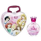 Disney Princess Magnificent Beauties Eau De Toilette Spray for Girls with Metal Lunch Box, 3.4 fl. Oz.
