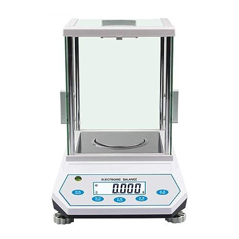 ZCXBHD Alta Precisión Báscula de Joyas, 500g, 300g, 200g ...