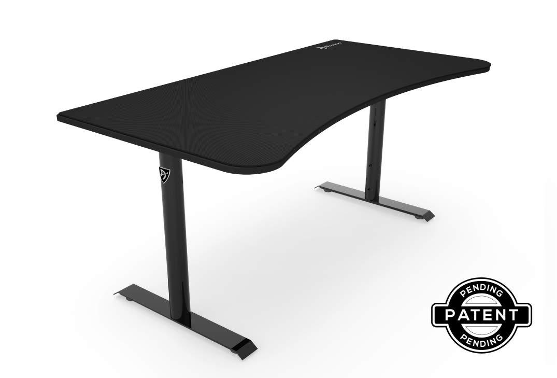 Arozzi Arena Gaming Desk - Pure Black by Arozzi
