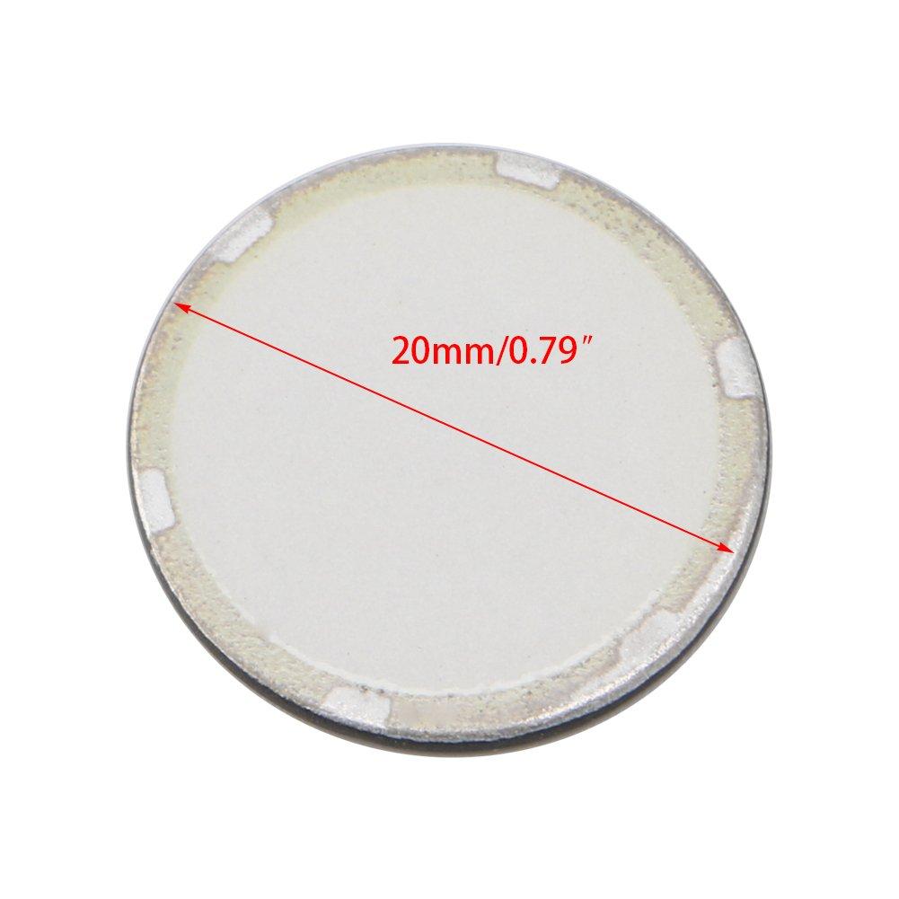 BIlinli 5Pcs 20mm Fogger Ultrasonic Ceramic Disc Sheet Atomizer Humidifier Accessories