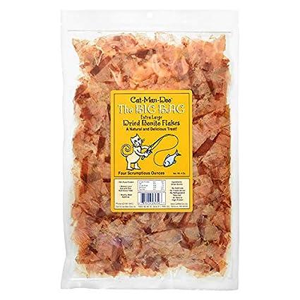 cee498698f7 Amazon.com : Cat-Man-Doo Extra Large Dried Bonito Flakes Treats for ...