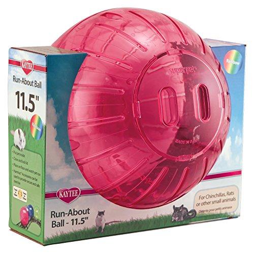 Interpet 861378 Superpet Rainbow-Laufball, 29.2 cm - 4 ausgewählte Farben
