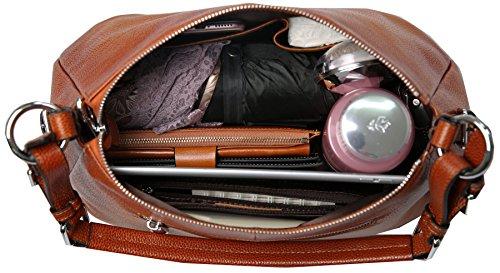 d52ad796397 Women's Leather Shoulder Handbags HESHE Tote Bag Top Handle ...