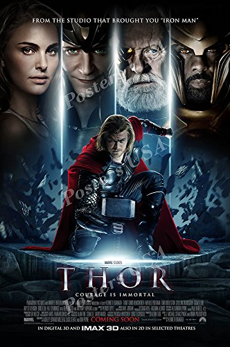 Posters USA Marvel Thor Movie Poster GLOSSY FINISH - FIL303