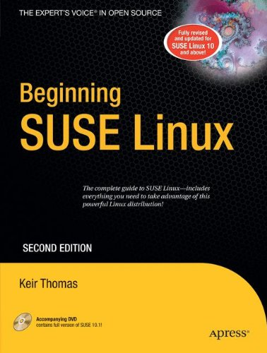 Beginning SUSE Linux (Beginning: from Novice to - Sticker Suse