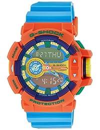 Casio Men's G-Shock GA400-4A Orange Rubber Quartz Watch