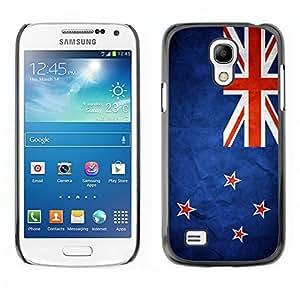YOYO Slim PC / Aluminium Case Cover Armor Shell Portection //New Zealand Grunge Flag //Samsung Galaxy S4 Mini
