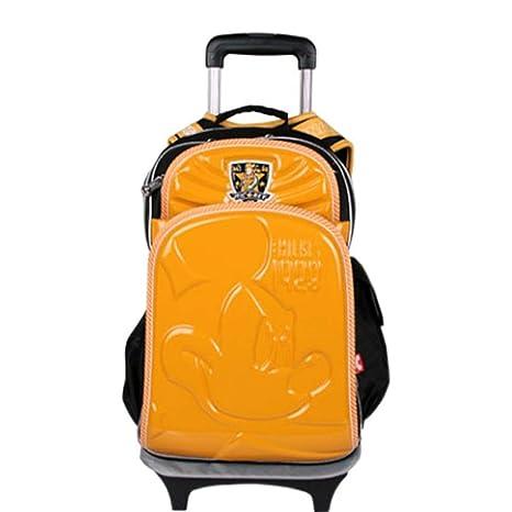 HWX Trolley Bag - Mochila de Viaje con Ruedas para niños/Mochila de Viaje con