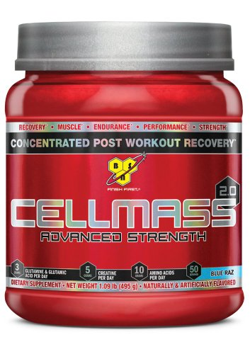 BSN-CELLMASS-20-Blue-Raz-109-lb-50-Servings