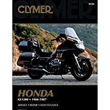 Clymer Repair/Service Manual GL1200 Goldwing 84-87