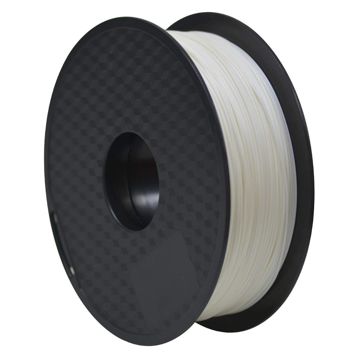 GEEETECH ABS Filamento 1.75mm Blanco, Impresora 3d Filamento 1KG 1 Carrete