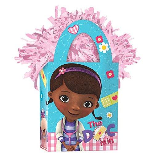 Amscan Girls Disney Doc McStuffins Miniトートバッグパーティーバルーン重量、5.7 Oz、ライトピンク   B00XH50AIW