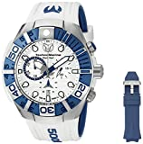 Image of Technomarine Men's 'Black Reef' Swiss Quartz Stainless Steel Casual Watch (Model: TM-515020)