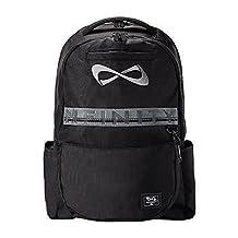 Nfinity Black Weekender Backpack - Gray Logo