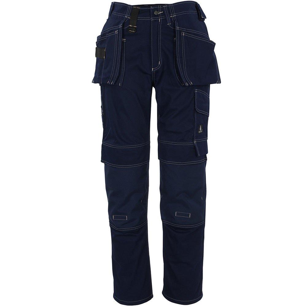 Mascot 06131-630-01-76C54''Atlanta'' Craftsmen's Trousers, L76cm/C54, Marine Blue