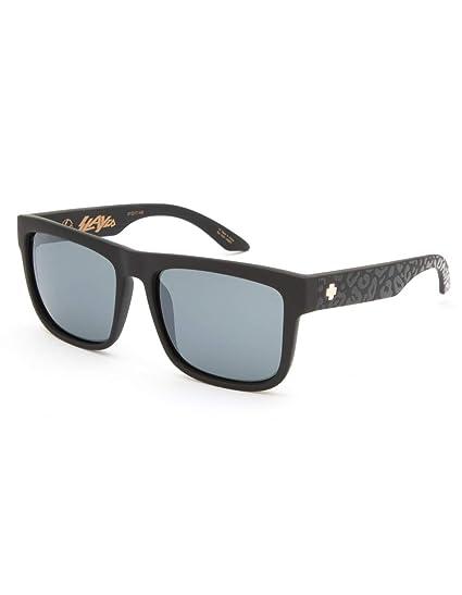 6e6c75b988dd Spy Optic Discord Polarized Flat Sunglasses (SLAYco Matte Black Leopard - Happy  Gray Green w