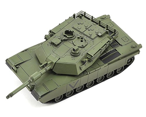 Kyosho US Army/USMC Abrams M1A2 Mini Bluetooth Tank, Green Camo