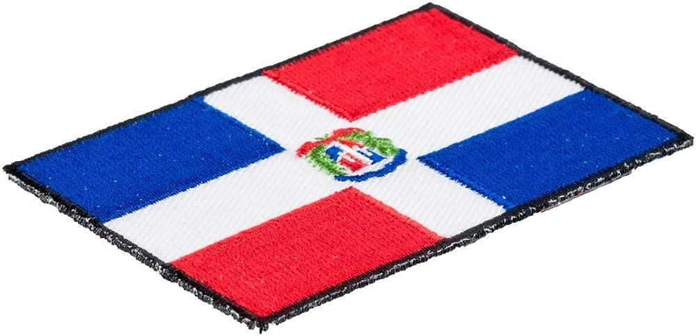 Dominicana PATCHE bandera r/ép