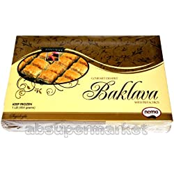 Turkish Baklava With Pistachios 1 lbs