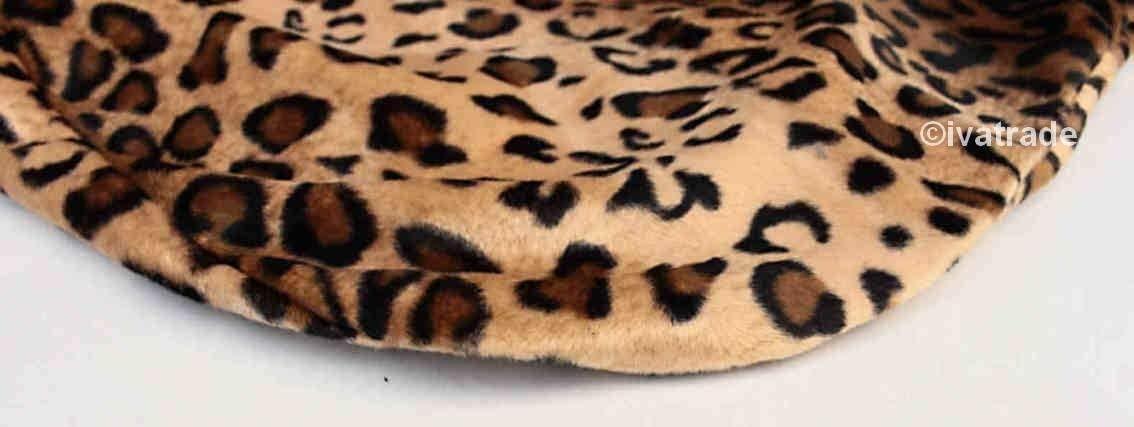 R/ök/ü 2X Qualit/ät Sitzbezug Autositzbezug Vodersitzbezug Leopard-Fell-Muster