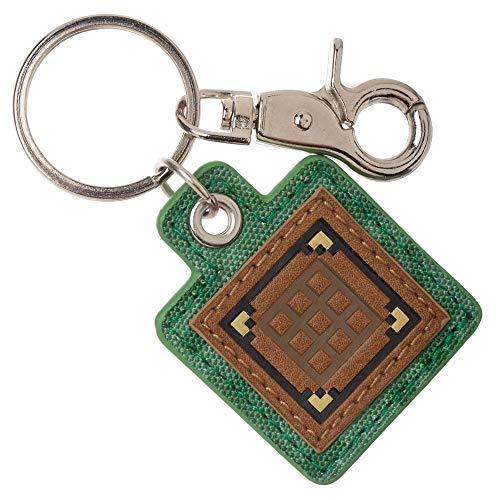 Crafting Table Minecraft Keychain Canvas Minecraft Accessories Gaming Accessories - Gaming Keychain Minecraft Gift -