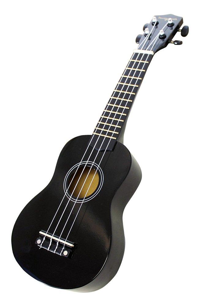 color negro Kit de inicio de ukelele Martin Smith UK-312-BK