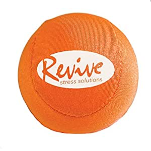 Scented, Therapeutic Gel Stress Ball by Revive Stress Solutions - Engage Multiple Senses for Maximum Relief (Citrus Blend)