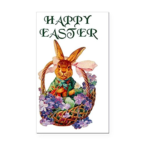 (CafePress Easter Bunny Rectangle Car Magnet, Magnetic Bumper Sticker)
