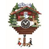 Trenkle Reloj en miniatura de la selva negra casa suiza