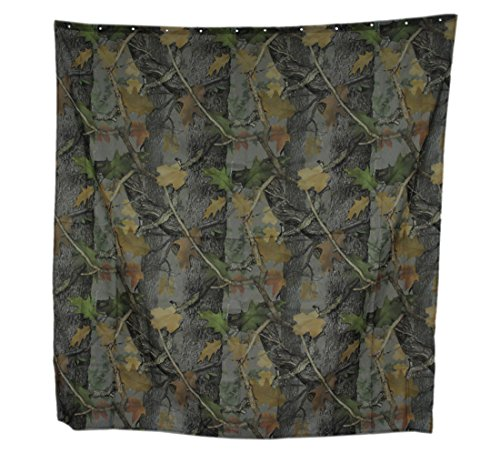 River's Edge Products Realtree Camo Shower (Best River's Edge Products Curtains)