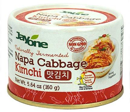 Korean Canned Kimchi, Napa Cabbage Kimchi, Naturally Fermented, Non-GMO, No preservatives, No additives-5.64 oz(160g) ()