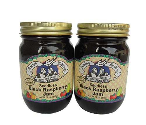 Amish Wedding Foods Amish Wedding Foods Seedless Black Raspberry Jam All Natural 2 - 18 oz. Jars price tips cheap