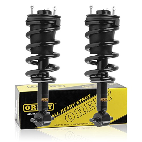 Front Pair Quick Strut Complete Assembly Shock Absorber for 2007 2008 2009 2010 2011 CHEVROLET SILVERADO 1500 GMC SIERRA 1500 (Front Strut Boot)