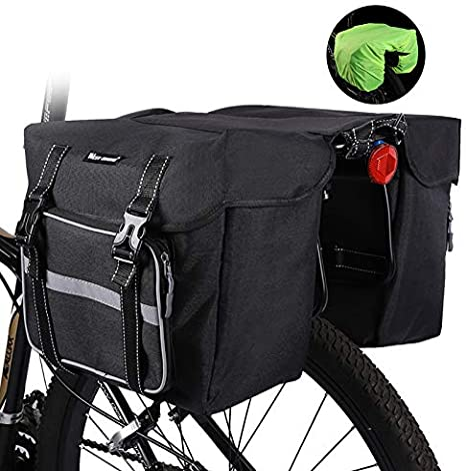 Cubierta de bolsa para maletas de bicicleta, bolsa de asiento de ...