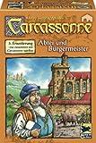 """Hans im Glück 48177 - Carcassonne 5. Erweiterung """"Abtei und Bürgermeister"""""""